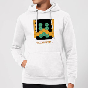 Blockbusters Stuck In The 80's Hoodie - White