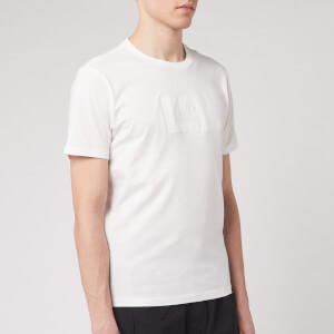 C.P. Company Men's Centre Logo T-Shirt - Gauze White