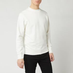 C.P. Company Men's Centre Logo Crew Sweatshirt - Gauze White