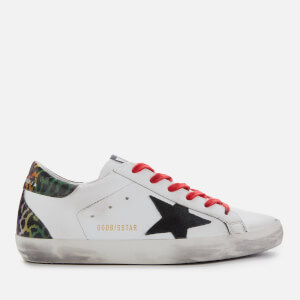 Golden Goose Deluxe Brand Women's Superstar Trainers - White/Black Suede Star