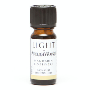 AromaWorks Light Range - Mandarin and Vetivert 10ml Essential Oil