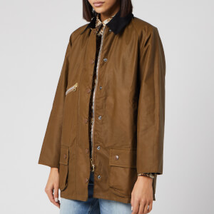 Barbour X Alexa Chung Women's Edith Wax Jacket - Sand