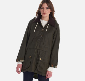 Barbour X Alexa Chung Women's Coco Wax Jacket - Archive Olive