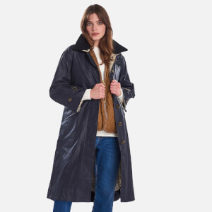 Barbour X Alexa Chung Women's Mildred Casual Jacket - Navy/Tattersal Check