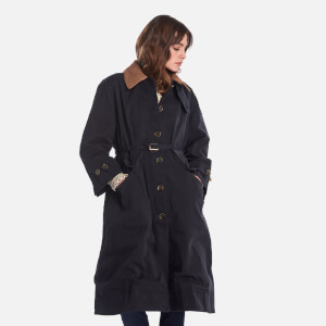 Barbour X Alexa Chung Women's Ellie Casual Jacket - Washed Black