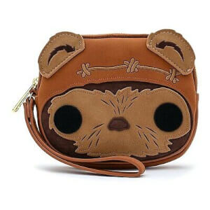 POP by Loungefly Star Wars Wicket Head Wristlet