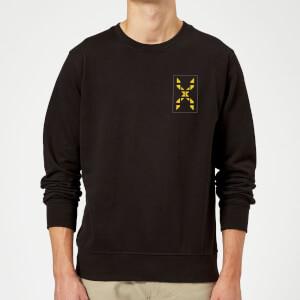 Family Fortunes Wrong Answer Pocket Print Sweatshirt - Black