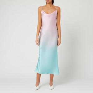 Olivia Rubin Women's Lia Slip Dress - Pink Green Ombre