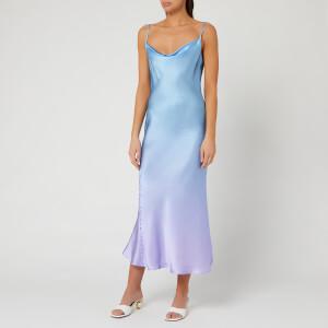 Olivia Rubin Women's Lia Slip Dress - Lilac Blue Ombre