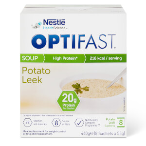 OPTIFAST Soup - Leek & Potato - Box of 8