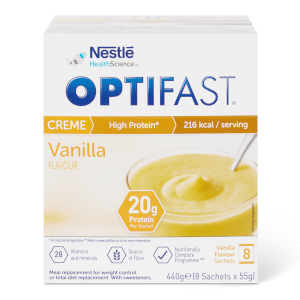 OPTIFAST Dessert - Vanilla - Box of 8