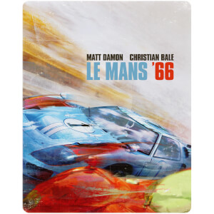 Le Mans '66 - Zavvi Exclusive 4K Ultra HD Steelbook (Includes Blu-ray)