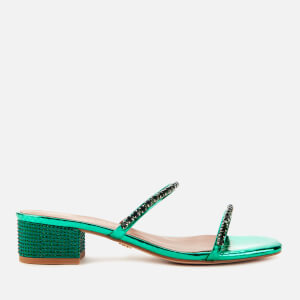 Kurt Geiger London Women's Priya Block Mule Sandals - Green