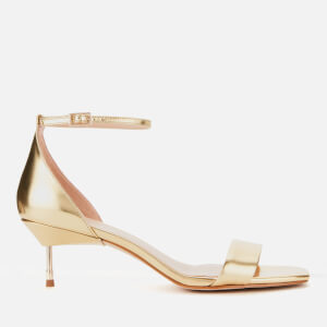Kurt Geiger London Women's Birchin Mid Heeled Sandals - Gold