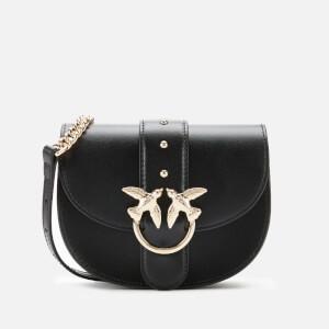 Pinko Women's Baby Round Shoulder Bag - Black