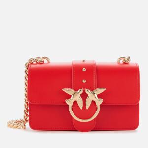 Pinko Women's Mini Love Shoulder Bag - Red
