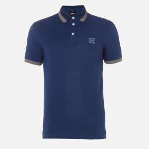 BOSS Hugo Boss Men's Ptrans Polo Shirt - Navy