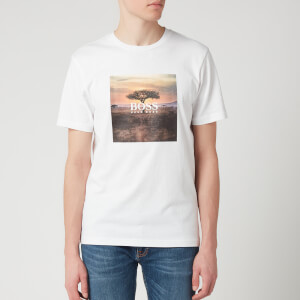 BOSS Hugo Boss Men's Troaar 5 T-Shirt - White
