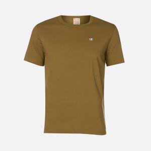 Champion Men's Logo T-Shirt - Khaki