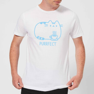 Pusheen Purrfect Cuppa Men's T-Shirt - White