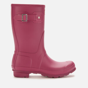 Hunter Women's Original Short Wellies - Red Algae