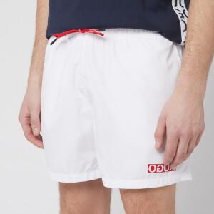 BOSS Men's Haiti Swim Shorts - White