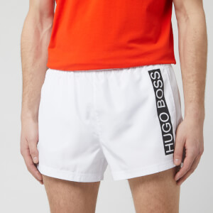 BOSS Hugo Boss Men's Mooneye Swim Shorts - White