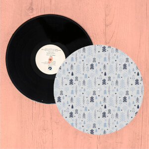 Christmas Trees Turntable Slip Mat