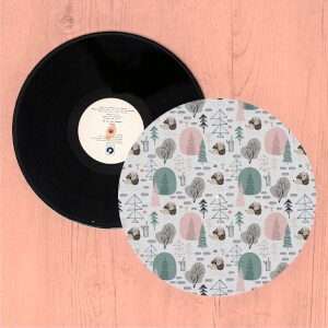 Hedgehogs And Trees Turntable Slip Mat