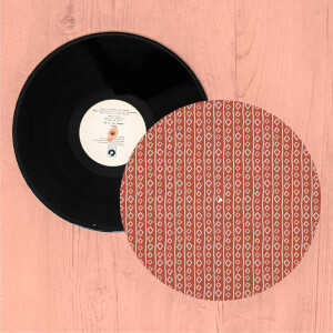 Squiggles Turntable Slip Mat