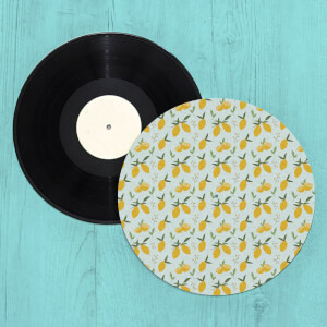 Lemons Turntable Slip Mat