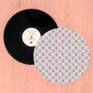 Pretty Hawaiian Flowers Turntable Slip Mat