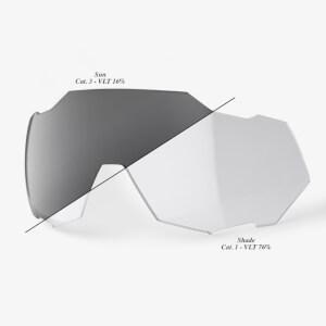 100% Speedtrap Replacement Photochromic Lens