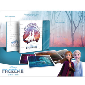 Disney's Frozen 2 - Collector's Edition Steelbook 3D Steelbook (Includes 2D Blu-ray)