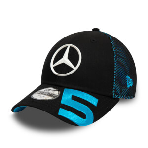 Black Stoffel Vandoorne Driver #5 9FORTY Cap - Junior