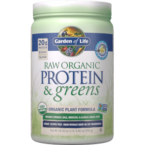 Raw Organic Protein and Greens - Vanilla - 548g