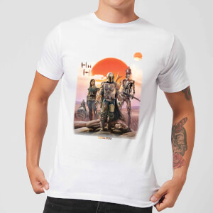 Camiseta The Mandalorian Warriors - Hombre - Blanco