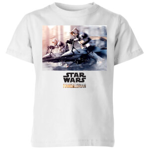 The Mandalorian Scout Trooper Kids' T-Shirt - White