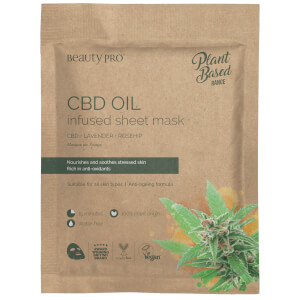 BeautyPro CBD Oil Infused Sheet Mask 22ml