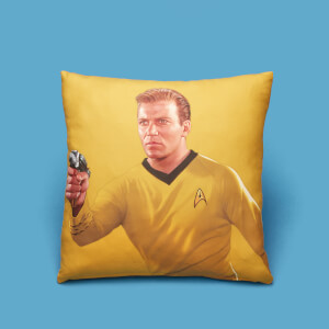 Captain Kirk Square Cushion