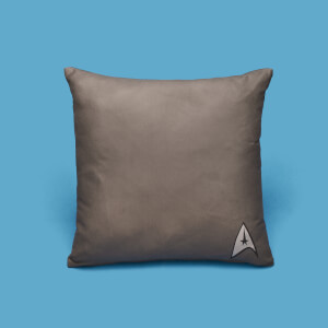 Star Trek Pattern And Logo Square Cushion