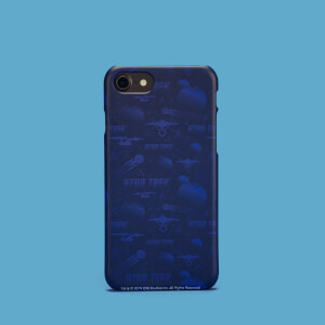 Cover telefono Navy Star Trek per iPhone e Android