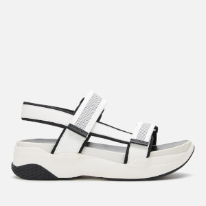 Vagabond Women's Lori Chunky Sandals - White/Black