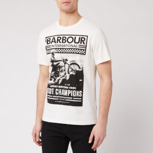 Barbour International Men's Archive Comp T-Shirt - Whisper White