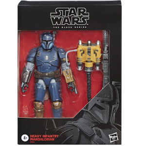 Star Wars The Black Series - Figurine 15 cm Heavy Infantry Mandalorian
