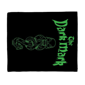 Harry Potter Dark Mark Fleece Blanket