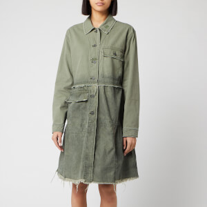 Free People Women's Forever Free Tiered Jacket - Olive