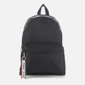Tommy Jeans Men's Logo Tape Backpack - Black