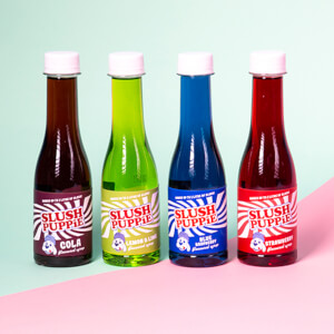 Slush Puppie Syrup Selection (4 Pack)