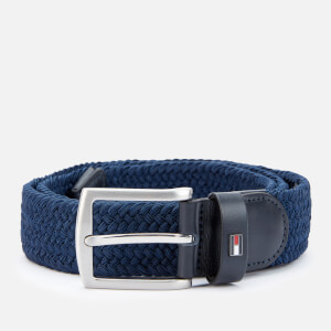 Tommy Hilfiger Men's Denton Elastic Belt - Sky Captain